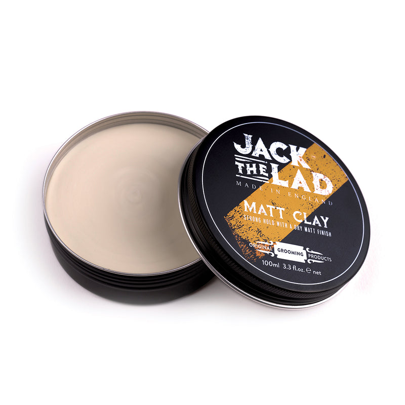 Jack the Lad Matt Clay hair styling product