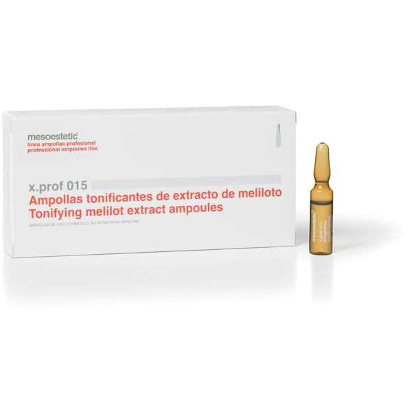 x.prof 015 melilito and rutin extract - 20 x 2 ml