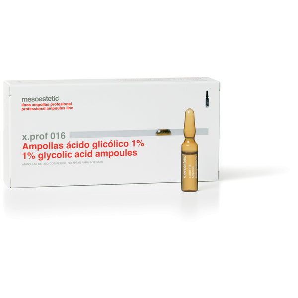 x.prof 016 glycolic acid 1% - 20 x 2 ml