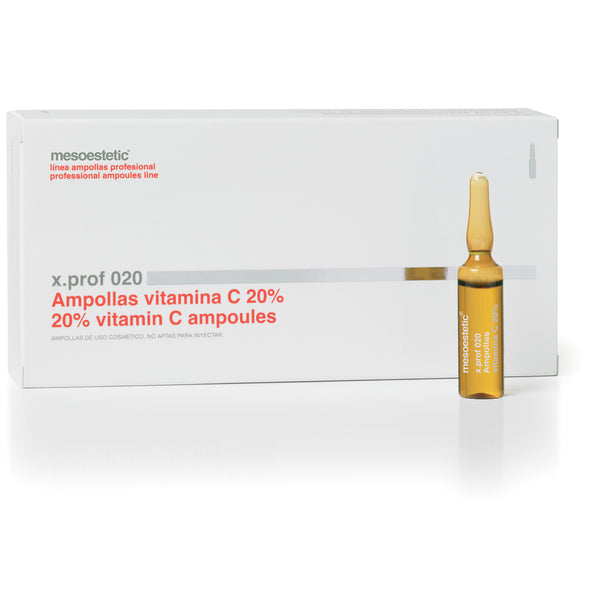 x.prof 020 vitamin C 20% - 20 x 5 ml