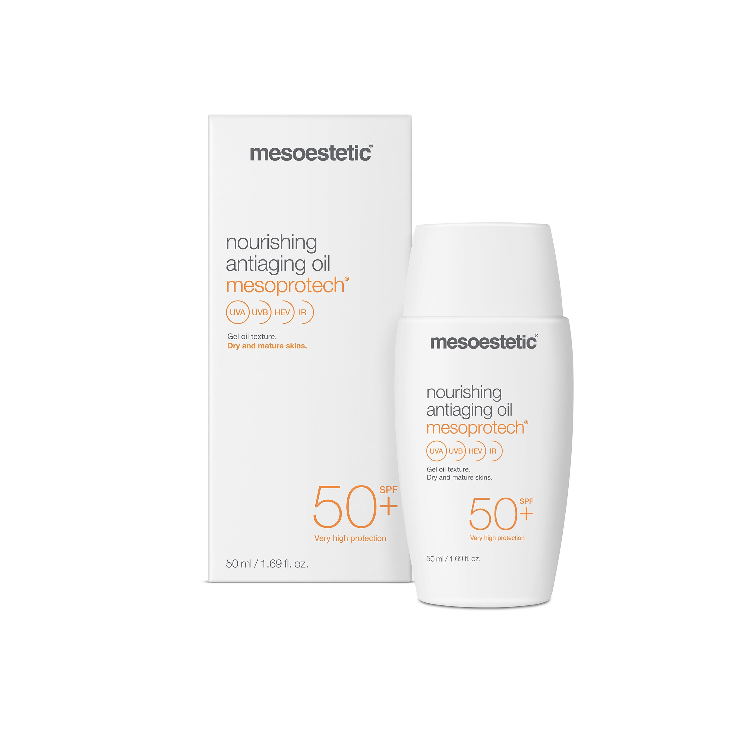 mesoprotech nourishing antiaging oil 50+ - 50 ml
