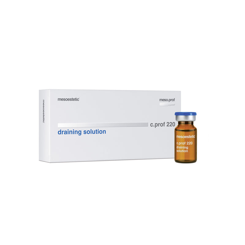 c.prof 220 draining solution - 5 x 10 ml
