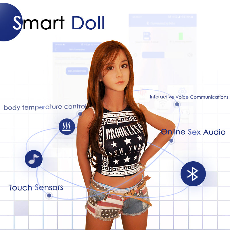Big Boobs Smart Doll 158cm-Betsy