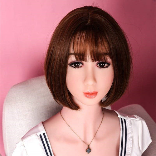 Short Hair Oral Sex Doll Head