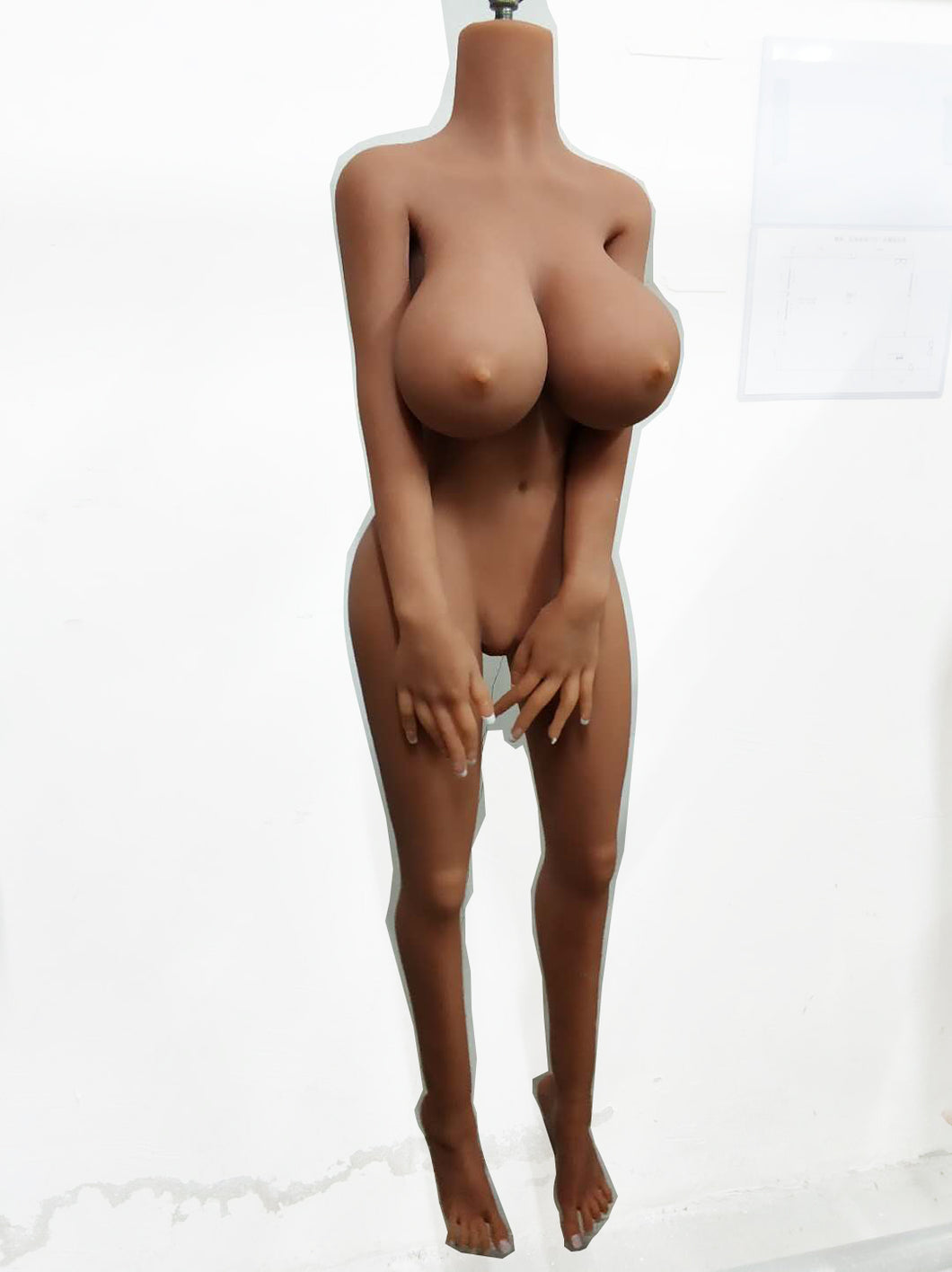Medium Big Breast Sex Doll Body-128cm