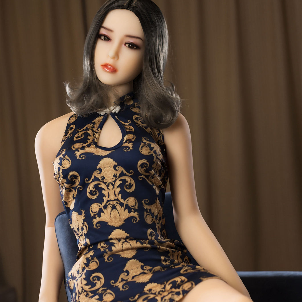 Cailey 160cm A Cup Flat Asian Sex Doll