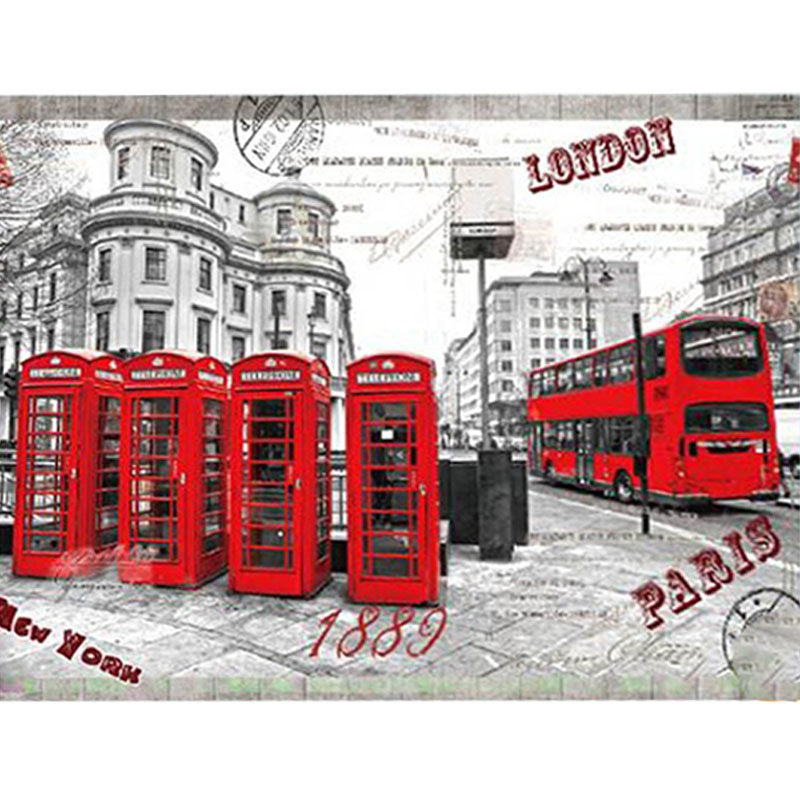 London Street Jigsaws 1000 Piece Mini Puzzles - MYTONSEE