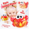 Bubble Machine Crab Bubble Maker Music Bath Toy For Baby - MYTONSEE