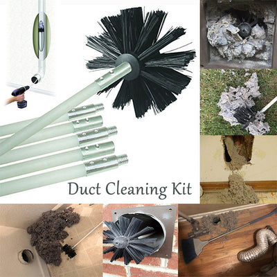 Dryer Duct Cleaning Kit - MYTONSEE