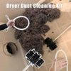 Dryer Duct Cleaning Kit - Lint Remover Cleaning Brush - MYTONSEE