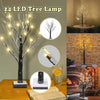 24 LED Imitation Snow Tree Lamp - MYTONSEE