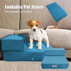 Breathable Foldable Pet Stairs Detachable Pet Bed 2-Step - MYTONSEE