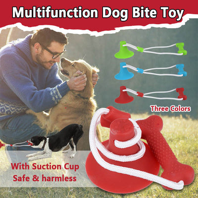 Pet Molar Bite Toy Dog Cleaning Teeth Toy - MYTONSEE