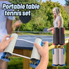 Retractable Portable Table Tennis Net Ping-Pong Net Post Set - MYTONSEE