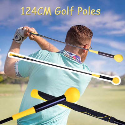 124CM Golf Swing Trainer Golf Training Aids - MYTONSEE