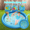 Water Games Beach Pad Mat Lawn Inflatable Spray Water Cushion Swiming Pool Toy - MYTONSEE