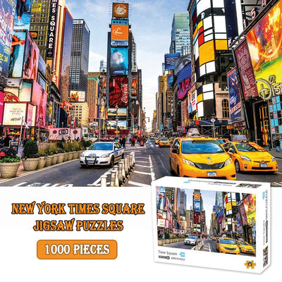 New York Times Square Puzzles 1000 Piece Adults Puzzles - MYTONSEE