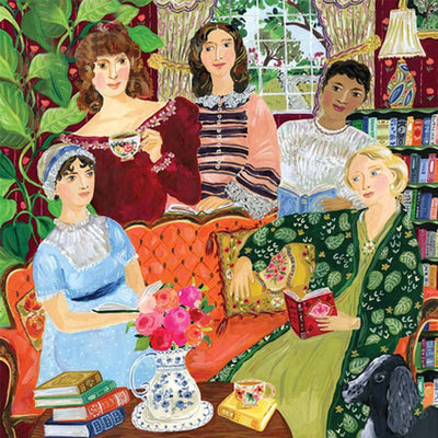 Jane Austen's Book Club 1000 Piece Puzzle - MYTONSEE