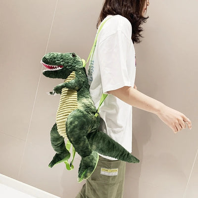 Dinosaur Plush Backpack-【BUY 3 FREE SHIPPING TODAY】