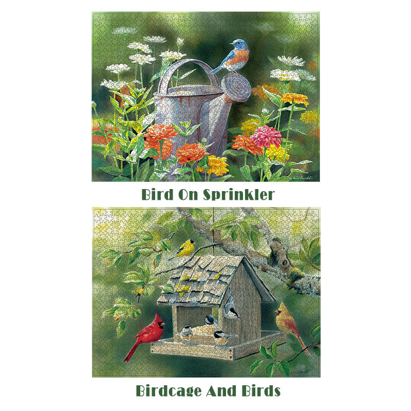 Reduce Pressure 1000 Piece Bird Puzzles - MYTONSEE