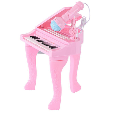 Mini 25 Keys Multifunctional Toddler Piano With Microphone - MYTONSEE