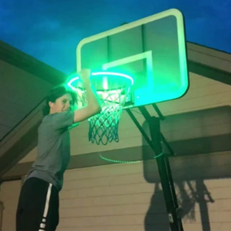 Basketball Hoop Sensor LED Strip Light--6 Flash Modes - MYTONSEE