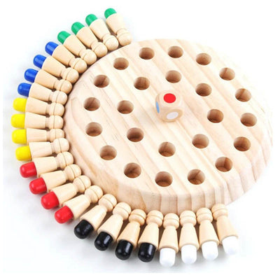 Wooden Memory Match Stick Chess Game for Children - MYTONSEE