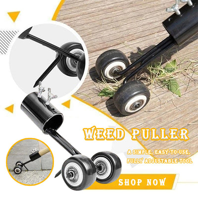 Weed Puller Stand Up Weeder Lawn Weed Puller Tool Portable Garden - MYTONSEE