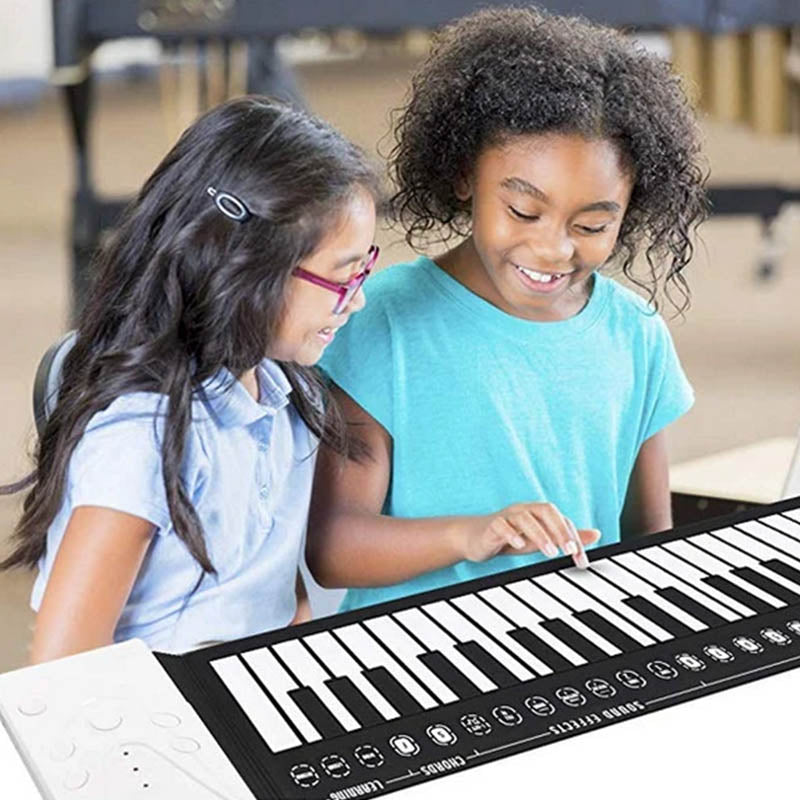 Portable Roll Up Piano Electronic Piano Keyboard - MYTONSEE