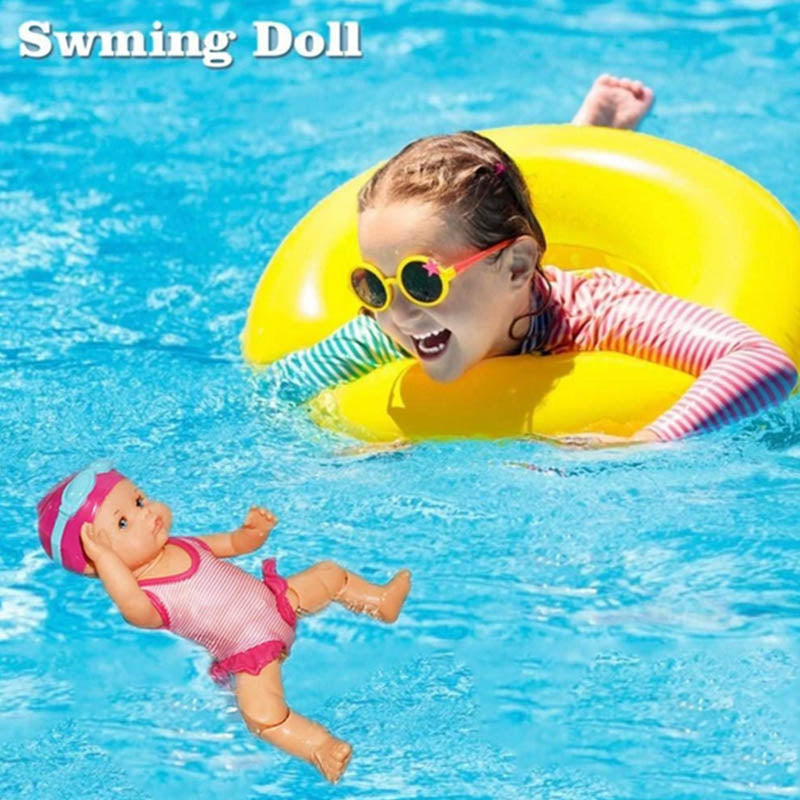 Free Shipping 🏊‍♂ Electric Waterproof Swimming Doll - MYTONSEE