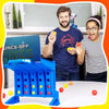Bouncing Linking Shots Connect 4 Shots Board Game - MYTONSEE