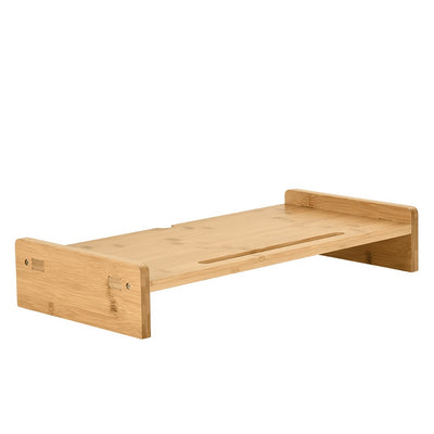 Bamboo Monitor Stand Heightening Base - MYTONSEE