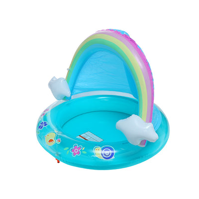 Baby Rainbow Pool With Canopy - MYTONSEE