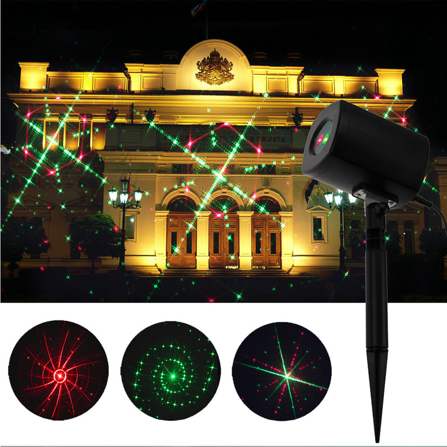 Waterproof Laser Light Projector Outdoor Light Decor - MYTONSEE