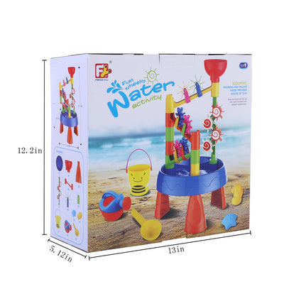 Children Beach Toy Sand Water Table Play Sand Tool Set - MYTONSEE