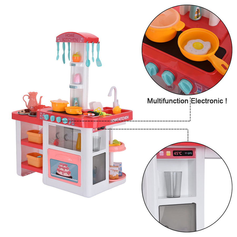 Children's Kitchen Play Set Pretend Play Roleplay Toy - MYTONSEE
