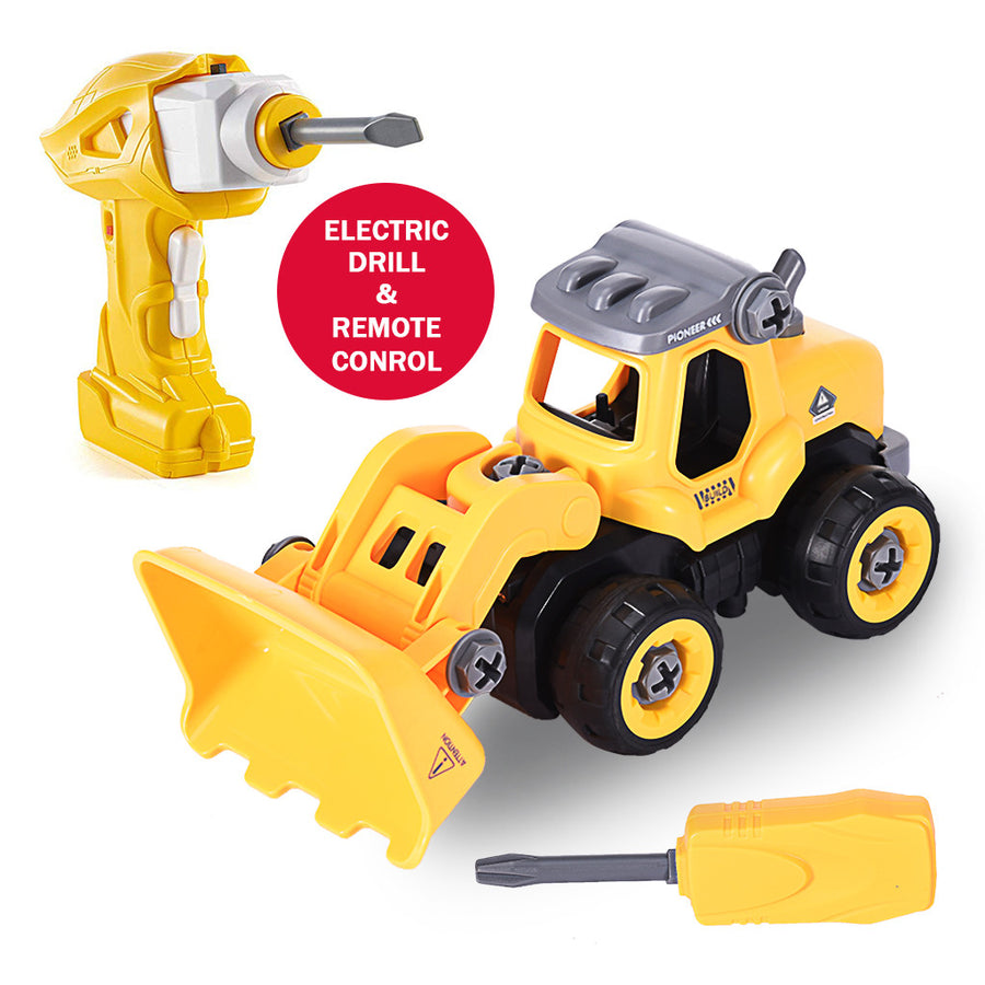 DIY Bulldozer Take Apart Toys - MYTONSEE