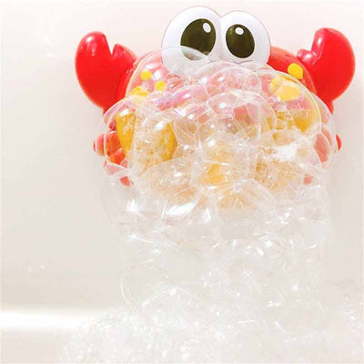 Bluetooth Speaker Crab Bubble Machine Baby Bath Bubble Toys - MYTONSEE