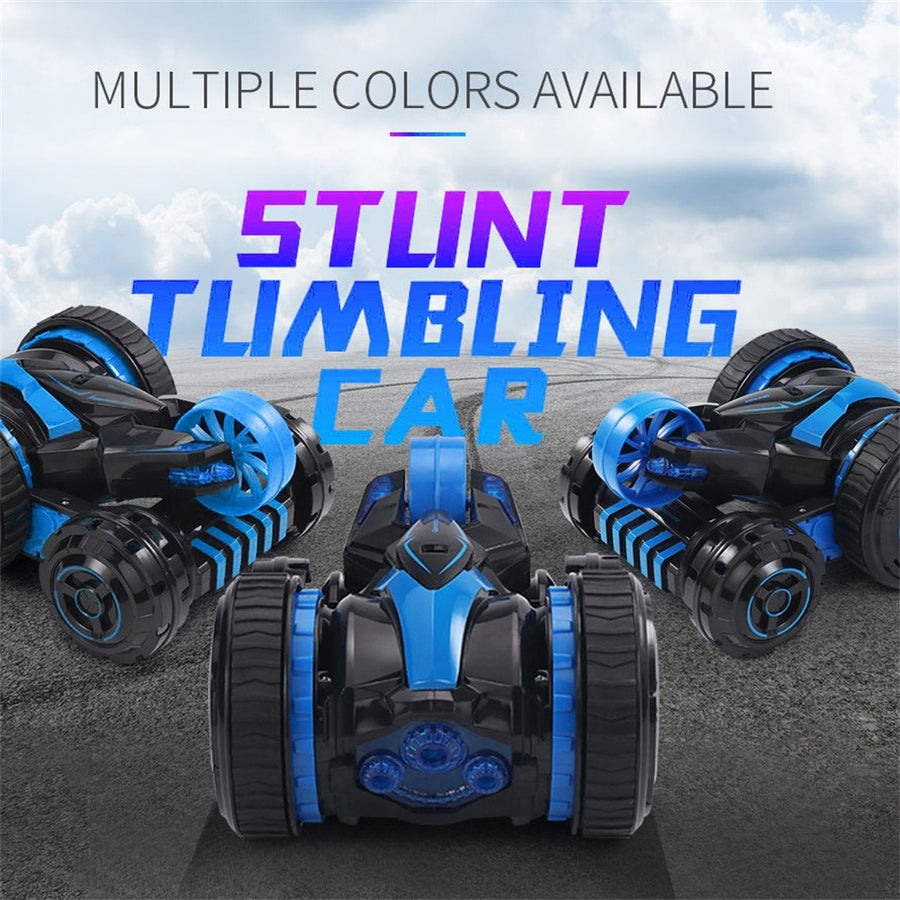 360 Rotating RC Stunt Car With Light (Double Sided) - MYTONSEE