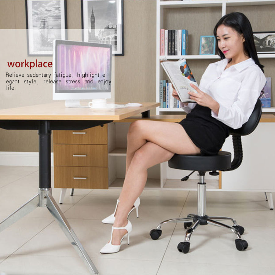 Office Chair Hydraulic Salon Chair Bar Chair - MYTONSEE