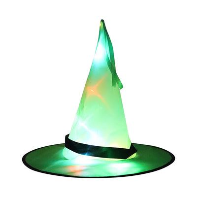 Halloween Kids Adult Glowing Wizard Hat-Light up your home and increase the atmosphere of Halloween - MYTONSEE