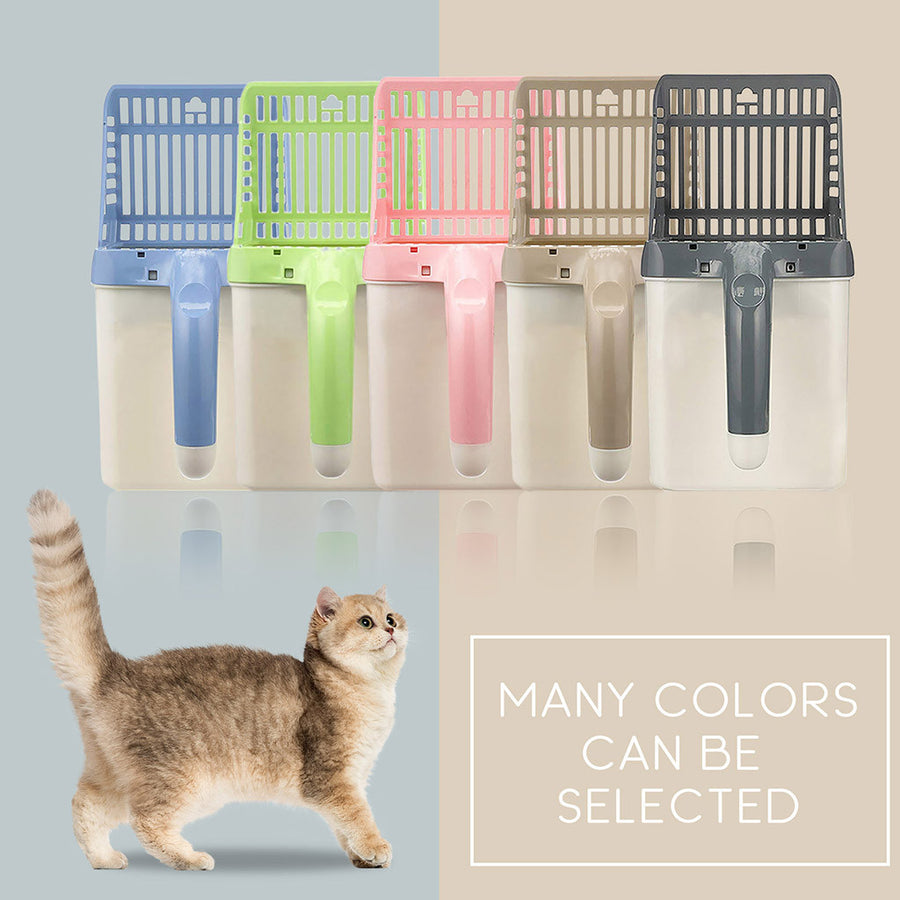 Fashionable pet integrated cat litter scoop-free 1 box of garbage bag(Buy two free shipping)