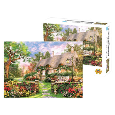 Garden Cottage Jigsaw Puzzle 1000 Piece - MYTONSEE
