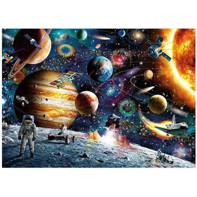 Space Travelers 1000 pieces Cardboard puzzles - MYTONSEE