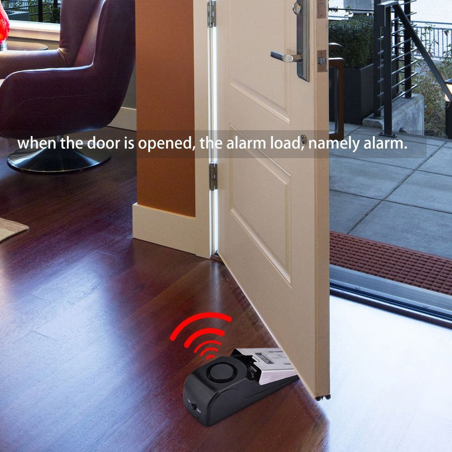 Door Stop Alarm Safety Door Wedge Alarm - MYTONSEE