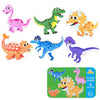 6 In 1 Animal Cartoon Wooden Puzzle Set - MYTONSEE