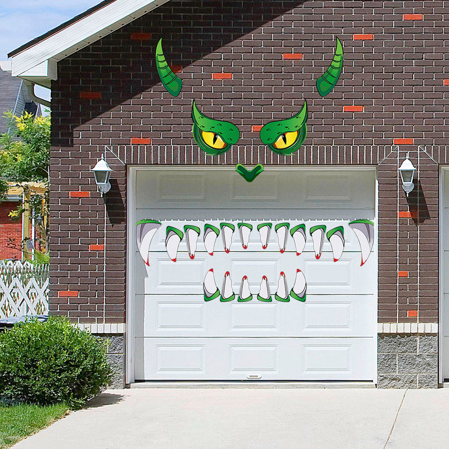 Halloween party fairy dragon face decoration-leave the dragon at your home