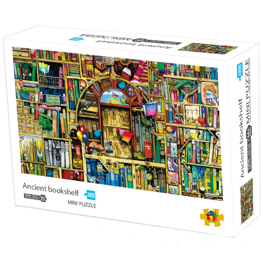 1000 Pieces Illustration Jigsaw Puzzles Assembling Games - MYTONSEE