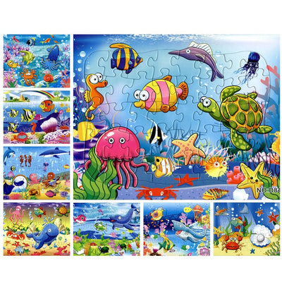 Sea World Children Puzzles (40 Piece 8 Sets) - MYTONSEE