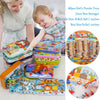 60PCS Kids Cartoon Puzzle Toys Iron Box - MYTONSEE